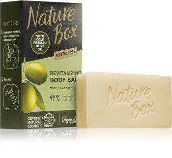 Nature Box Olive Oil почистващ твърд сапун