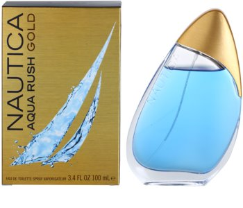 Nautica Aqua Rush Gold eau de toilette para hombre 100 ml
