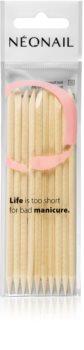 NeoNail Wooden Sticks dřevěný zatlačovač nehtové kůžičky