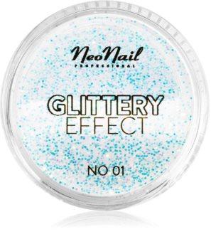 NeoNail Glittery Effect No. 01 csillogó por körmökre