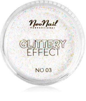 NeoNail Glittery Effect No. 03 proszek brokatowy do paznokci