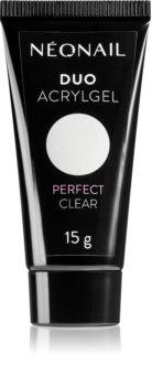 NeoNail Duo Acrylgel Perfect Clear gél körömépítésre