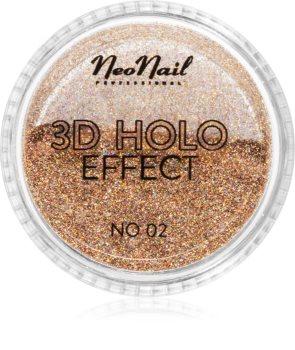NeoNail 3D Holo Effect třpytivý prášek na nehty