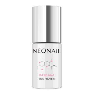 NeoNail 6in1 Silk Protein основен лак за нокти с гел