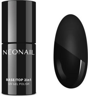 NeoNail Base/Top 2in1 alap- és fedőlakk a zselés műkörömhöz