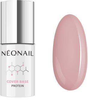 NeoNail Cover Base Protein podkladový a vrchní lak pro gelové nehty