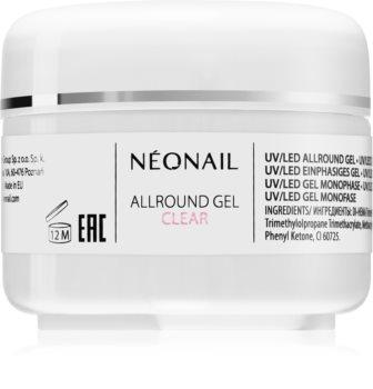 NeoNail Allround Gel Clear gél körömépítésre
