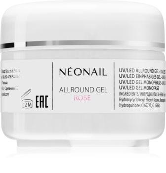 NeoNail Allround Gel Rose gél körömépítésre