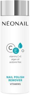 NeoNail Nail Polish Remover лакочистител с витамини C и Е