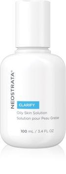 NeoStrata Clarify lozione tonica detergente per la riduzione del sebo in eccesso e dei pori dilatati con AHA Acids