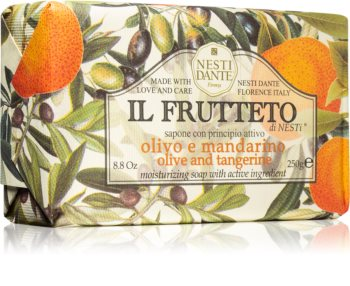 Nesti Dante Il Frutteto Olive and Tangerine Naturseife