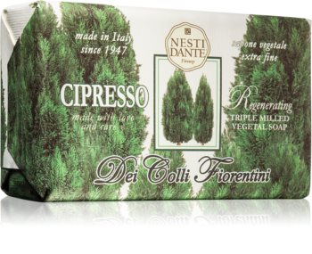 Nesti Dante Dei Colli Fiorentini Cypress Regenerating Natural Soap