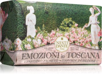 Nesti Dante Emozioni in Toscana Garden in Bloom savon naturel