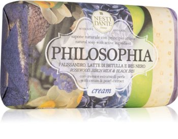 Nesti Dante Philosophia Cream with Cream & Pearl Extract φυσικό σαπούνι