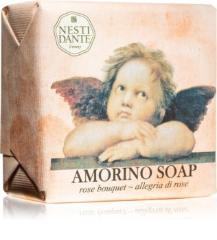 Nesti Dante Amorino Rose Bouquet Bar Soap