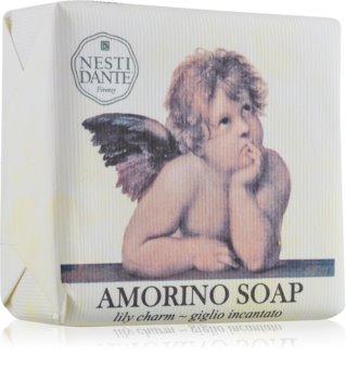 Nesti Dante Amorino Lily Charm sapone di lusso