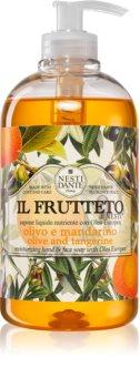 Nesti Dante Il Frutteto Olive and Tangerine savon liquide mains
