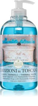 Nesti Dante Emozioni in Toscana Thermal Water savon liquide mains
