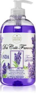 Nesti Dante Dei Colli Fiorentini Lavender Relaxing flüssige Seife für die Hände mit Pumpe