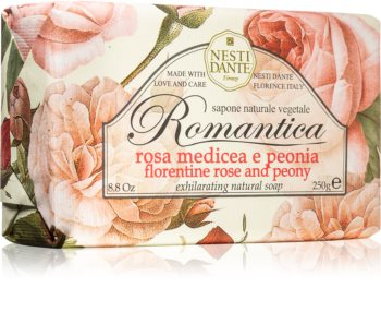 Nesti Dante Romantica Florentine Rose and Peony Naturlig sæbe