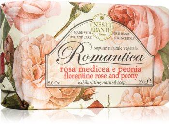 Nesti Dante Romantica Rosa Medicea e Peonia sapone naturale