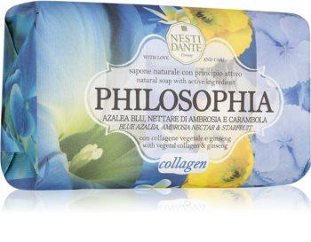 Nesti Dante Philosophia Collagen with vegetable collagen & ginseng sapone naturale con collagene