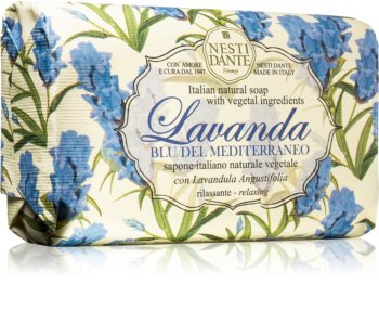 Nesti Dante Lavanda Blu del Mediterraneo Naturlig sæbe