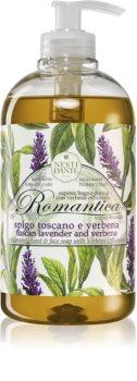 Nesti Dante Romantica Wild Tuscan Lavender and Verbena Sanfte flüssige Handseife