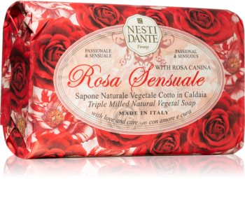 Nesti Dante Rose Sensuale savon naturel