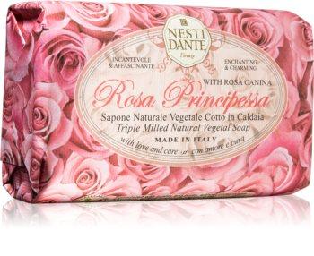 Nesti Dante Rose Principessa přírodní mýdlo