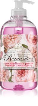 Nesti Dante Romantica Rosa Medicea e Peonia sapone liquido per le mani