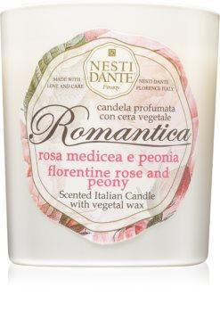 Nesti Dante Romantica Rosa Medicea e Peonia candela profumata