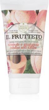 Nesti Dante Il Frutteto Medlar and Jujube feuchtigkeitspendende Creme für Gesicht und Körper