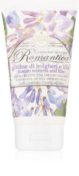 Nesti Dante Romantica Tuscan Wisteria & Lilac hidratáló krém arcra és testre
