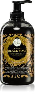 Nesti Dante Black sapone liquido con dosatore
