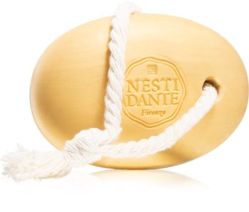 Nesti Dante Luxury Gold Body Cleanser on a Rope sapone naturale