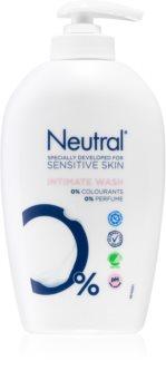 Neutral Sensitive Skin нежен гел за интимна хигиена