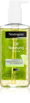 Neutrogena Oil Balancing Cleansing Gel for Oily Skin