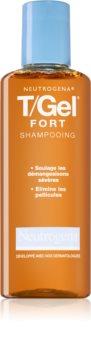 Neutrogena T/Gel Forte шампунь против перхоти для сухой и зудящей кожи головы
