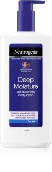 Neutrogena Norwegian Formula® Deep Moisture hloubkově hydratační tělové mléko pro suchou pokožku