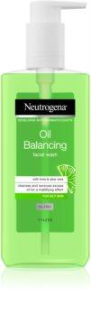 Neutrogena Oil Balancing gel de curățare pentru ten gras