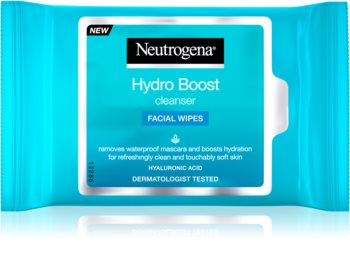 Neutrogena Hydro Boost® Face toalhitas de limpeza húmidos para rosto