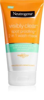 Neutrogena Visibly Clear Spot Proofing emulsione e maschera detergenti 2 in 1