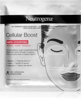 Neutrogena Cellular Boost intensive Hydrogel-Maske mit glättender Wirkung