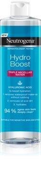 Neutrogena Hydro Boost® Face 3-i-1 micellært vand   med fugtgivende virkning