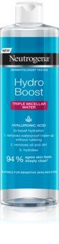 Neutrogena Hydro Boost® Face água micelar 3 em 1 com efeito hidratante