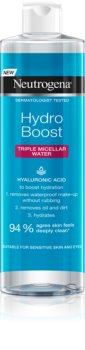 Neutrogena Hydro Boost® Face eau micellaire 3 en 1 pour un effet naturel