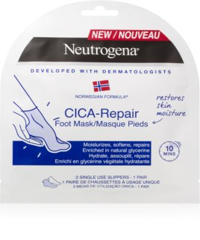 Neutrogena Norwegian Formula® CICA Repair maschera idratante per i piedi