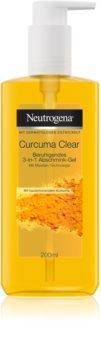 Neutrogena Curcuma Clear gel de curatare micelar
