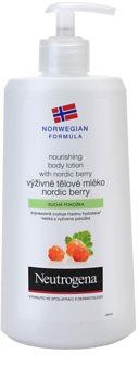 Neutrogena Norwegian Formula® Nordic Berry latte nutriente corpo per pelli secche